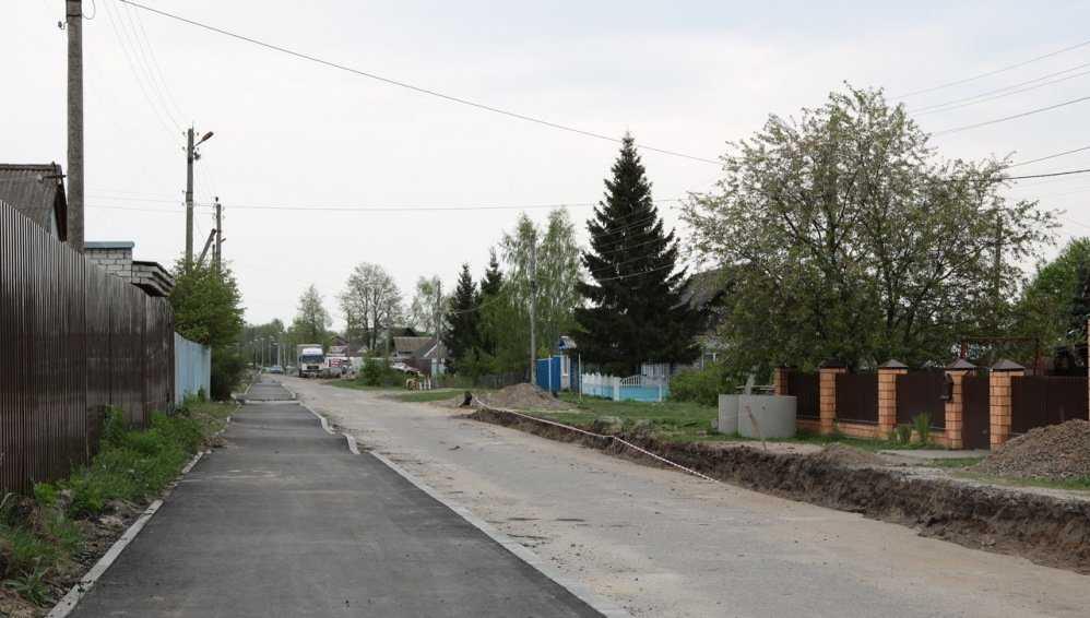 В Брянске дорогу на улице Челюскинцев отремонтируют до июля