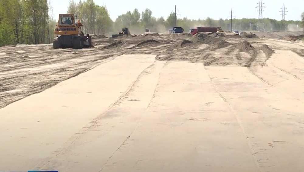 В Брянске высота дамбы для новой дороги достигнет 6 метров