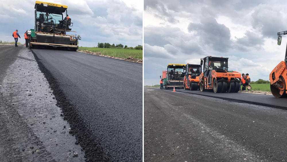 В Брянской области впервые за 30 лет обновят дорогу Жирятино − Тарасово