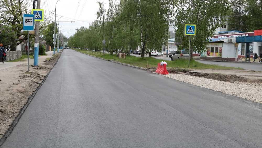 Мэр Брянска проинспектировал ремонт бежицких дорог