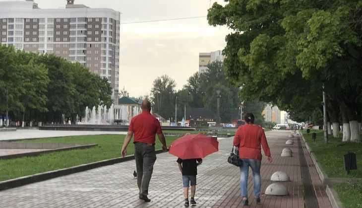 На Брянск 30 июня снова обрушился мощный ливень