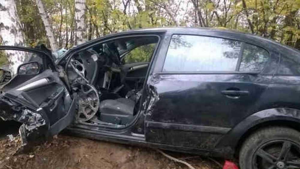 В Мглинском районе съехавший в кювет водитель покалечил пассажирку