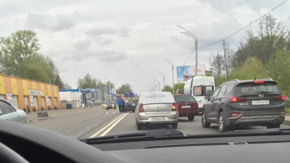 В Брянске сняли видео о серьёзном ДТП на улице Флотской
