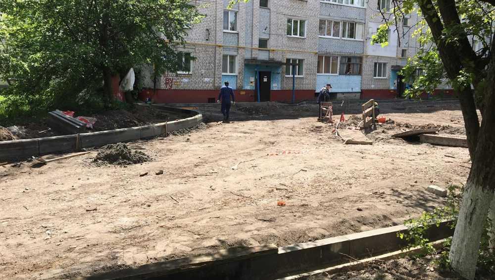 В Брянске объявили прием заявок на благоустройство дворов