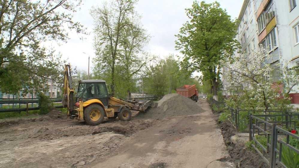 В Брянске 10 дворов отремонтируют за 60 млн рублей