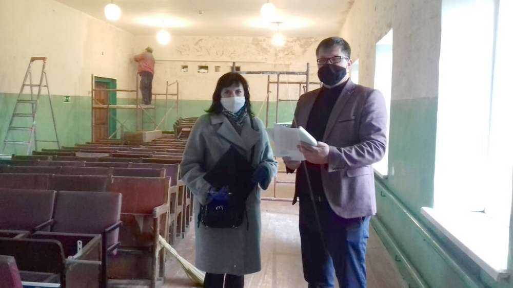 В Унечском районе ремонтируются сельские дома культуры