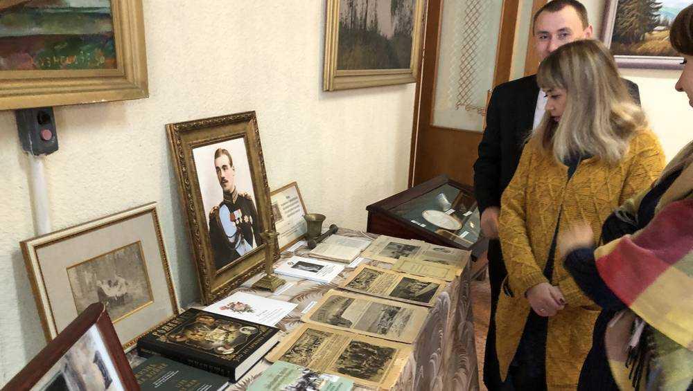 Музей Михаила Романова в брянском Локте пополнят уникальные экспонаты
