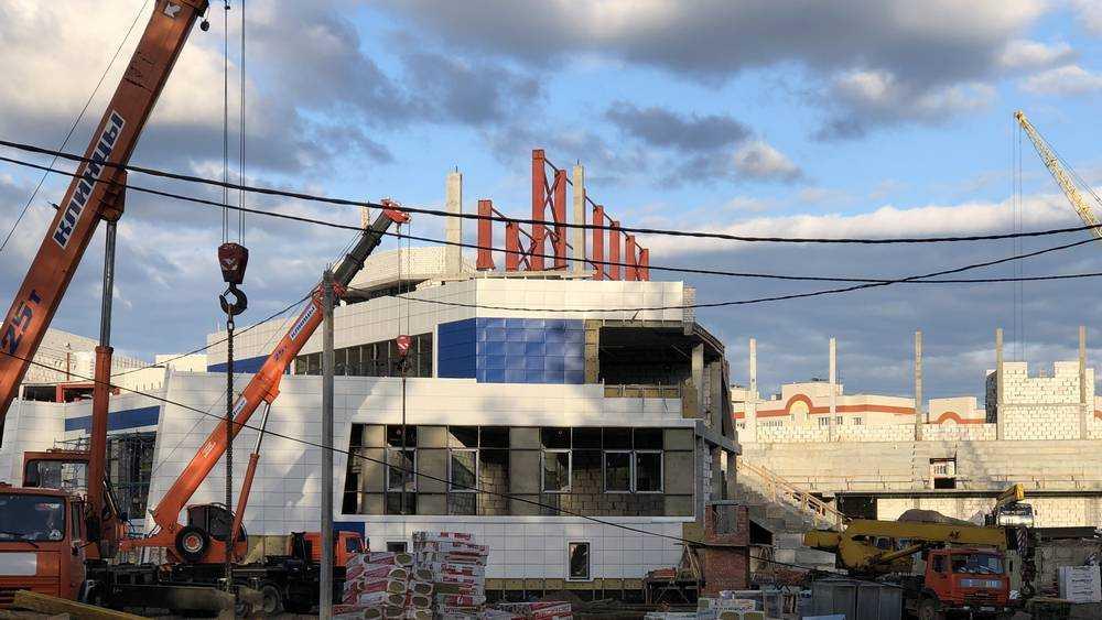 Строительство Дворца единоборств в Брянске ускорилось
