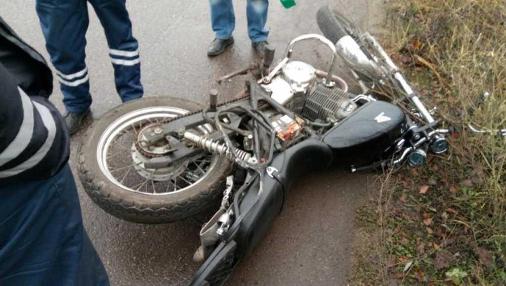 В Брянской области за день три малолетних мотоциклиста устроили ДТП
