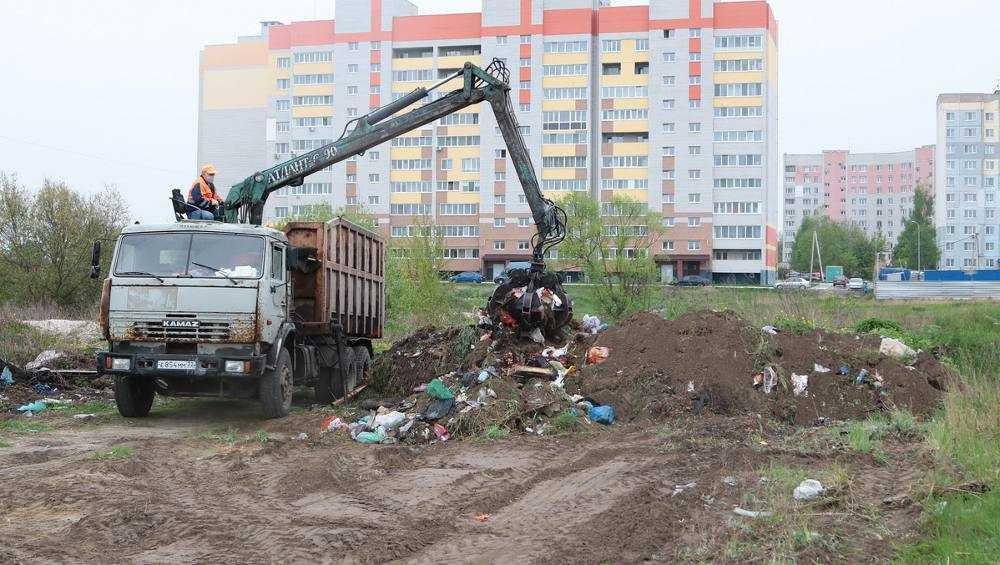 В Брянске начали ликвидацию громадной свалки
