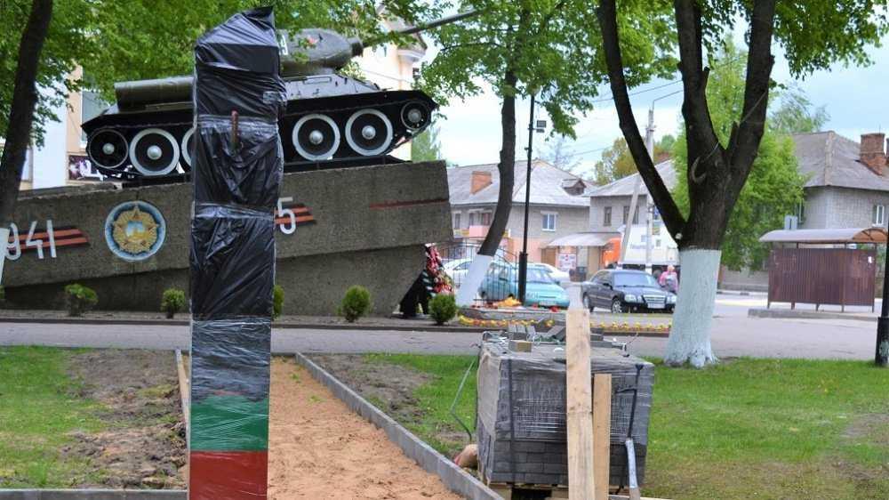 В Унече Брянской области появился памятник пограничникам