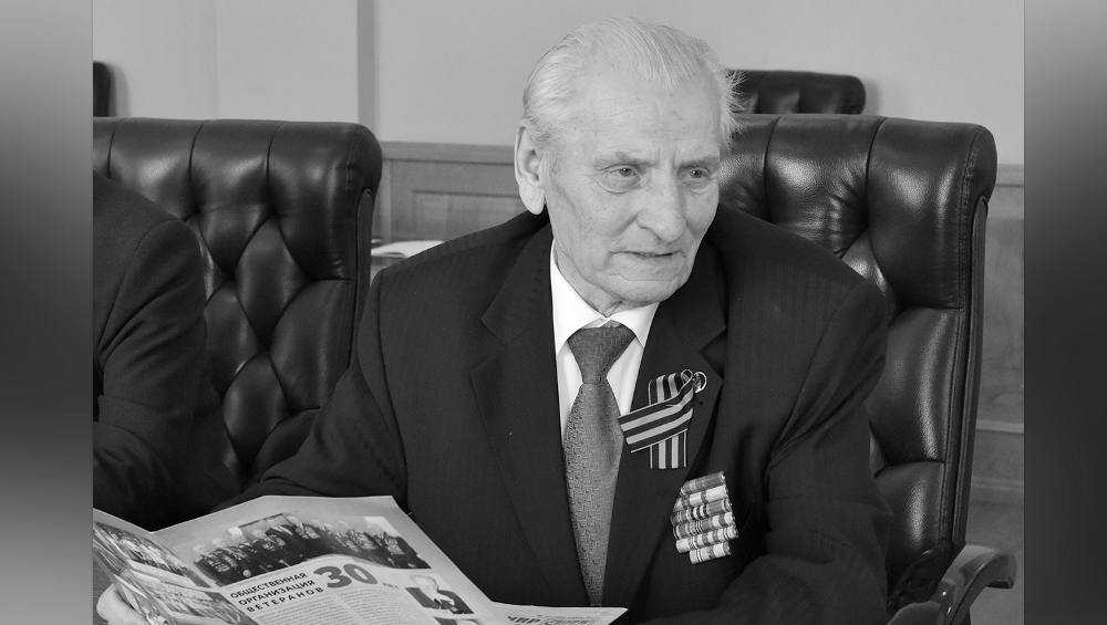 Скончался глава Брянского совета ветеранов войны Сергей Панков