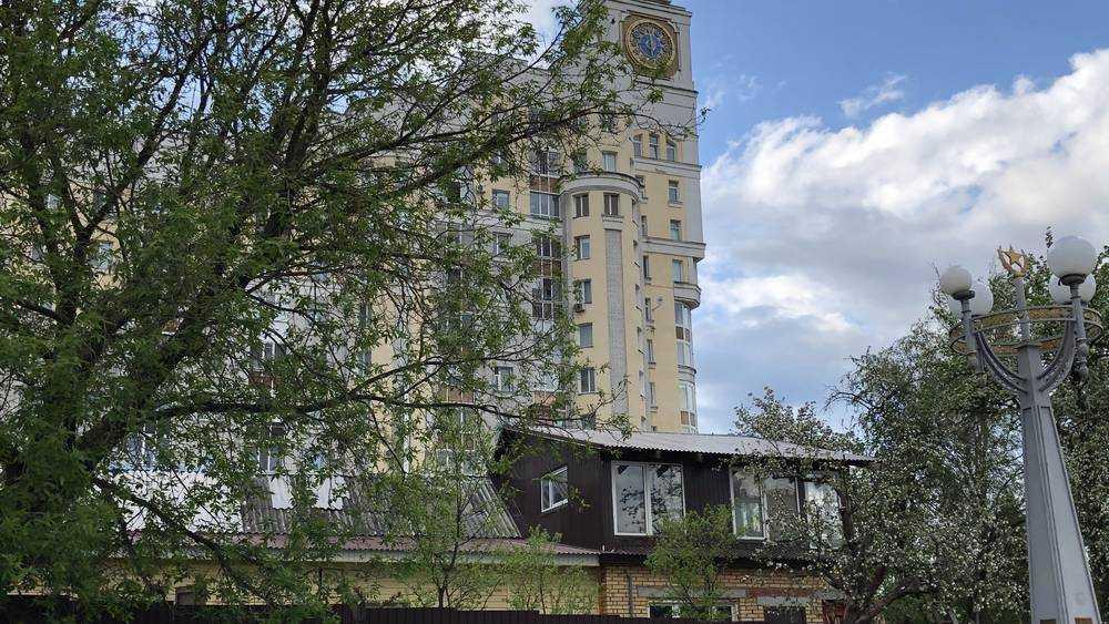 В Брянске хозяева частного дома на площади Партизан всех победили