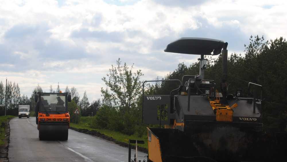 На дорогах Брянской области развернулись ремонтные работы