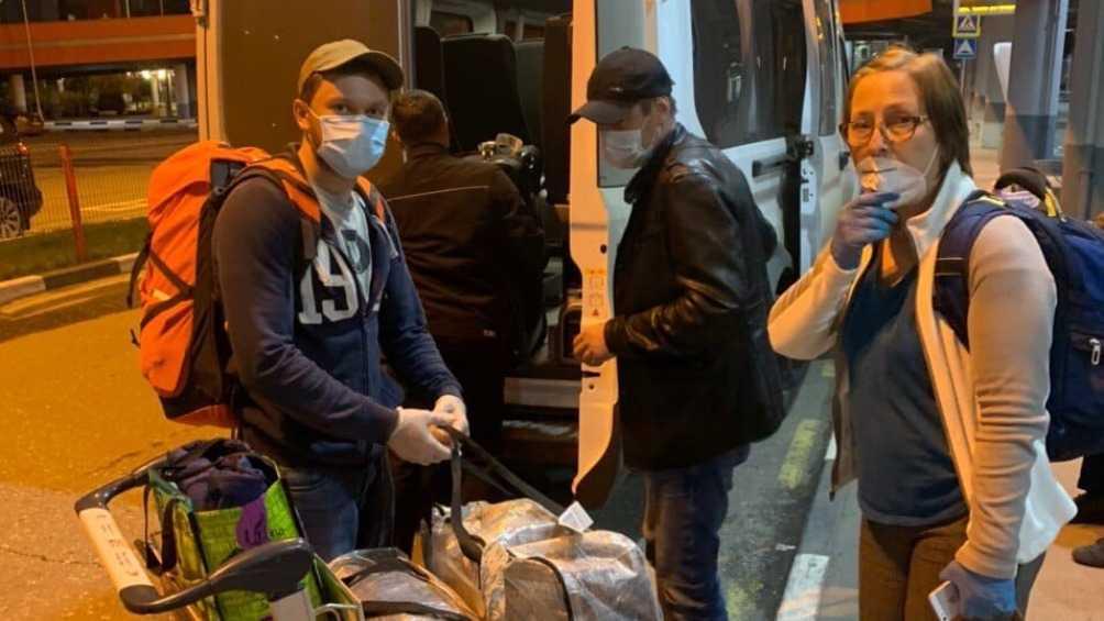Брянские туристы вернулись домой из США