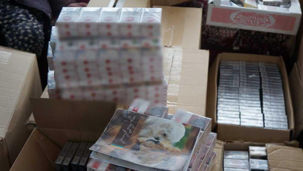 Брянские полицейские накрыли с поличным торговцев «левыми» сигаретами