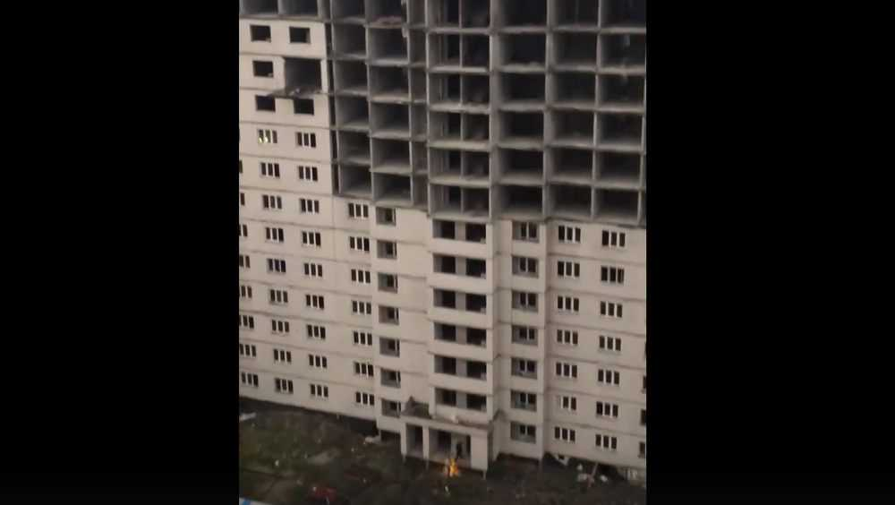 В Брянске спасатели приехали вызволять собаку из 16-этажного долгостроя