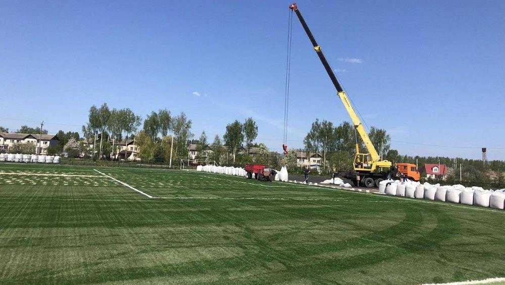 Под Брянском в Добруни скоро сдадут новый стадион