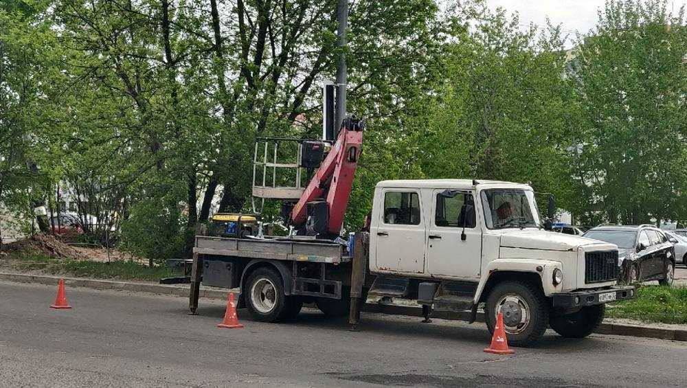 В Брянске на улице Фокина установили еще один светофор