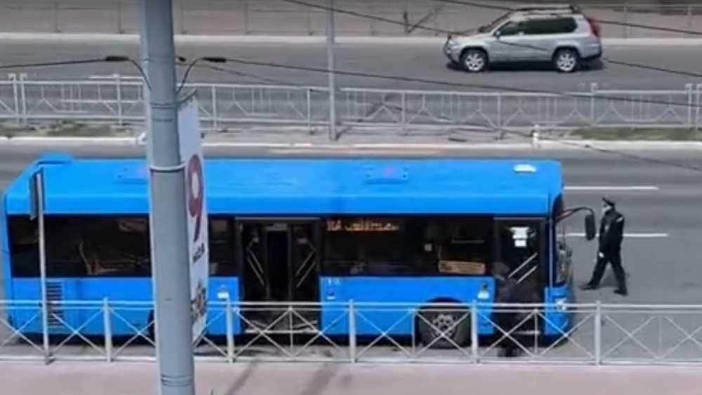 В Брянске полиция стала выявлять пассажиров без масок в маршрутках