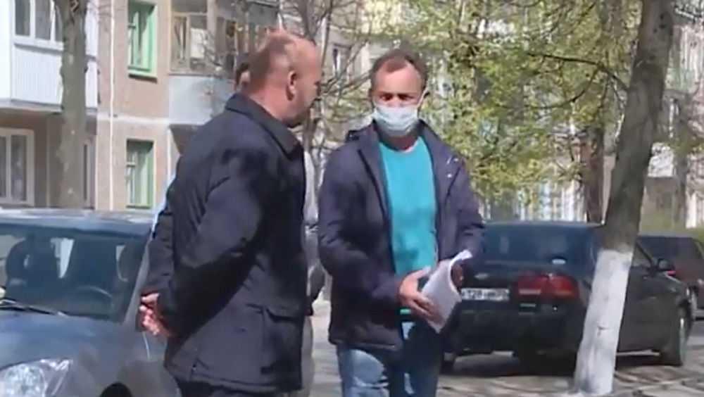 Жуковский глава Лучкин наказал своего заместителя за отсутствие маски