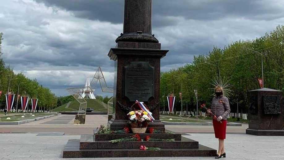 Сенатор Галина Солодун поздравила ветеранов войны с 75-летием Великой Победы