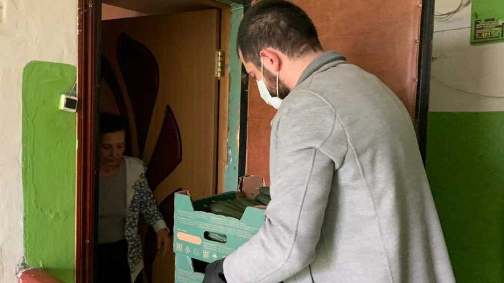 Николай Валуев передал очередную партию продуктов в поддержку брянских многодетных и малообеспеченных семей