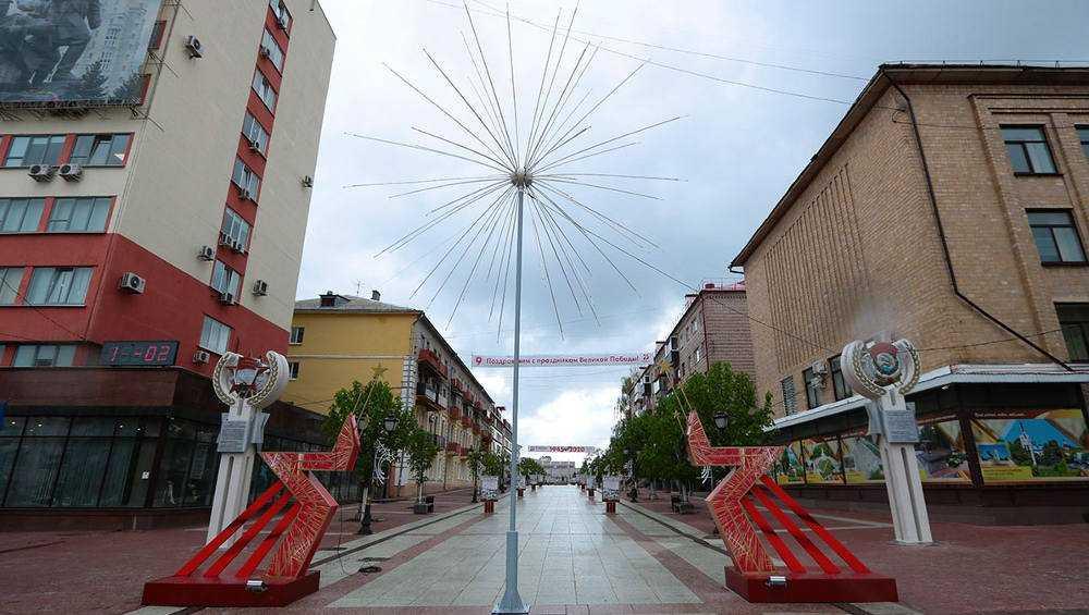 В Брянске на бульваре Гагарина установили разделенную звезду
