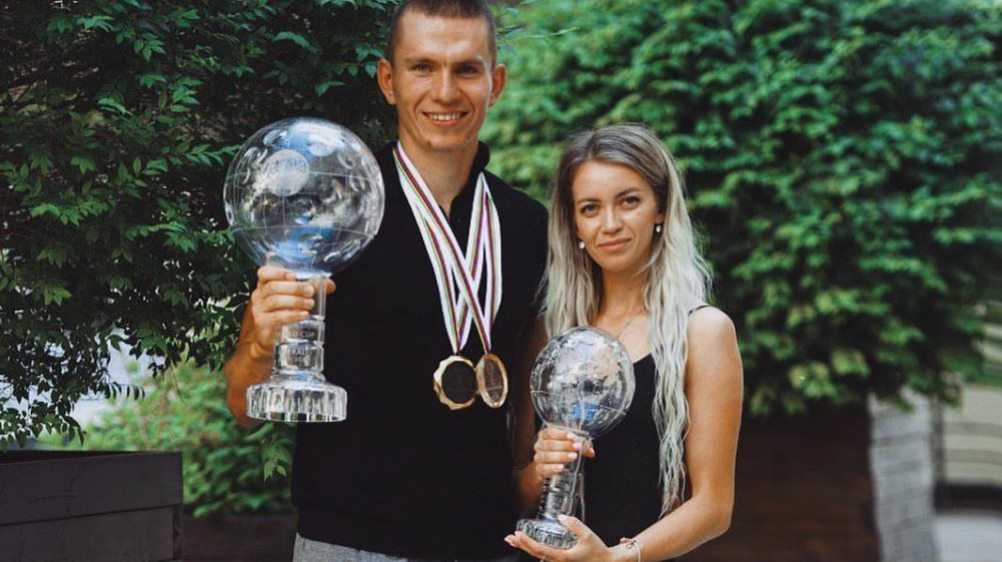 Девушка брянца Большунова трогательно поздравила его с вручением Кубка мира