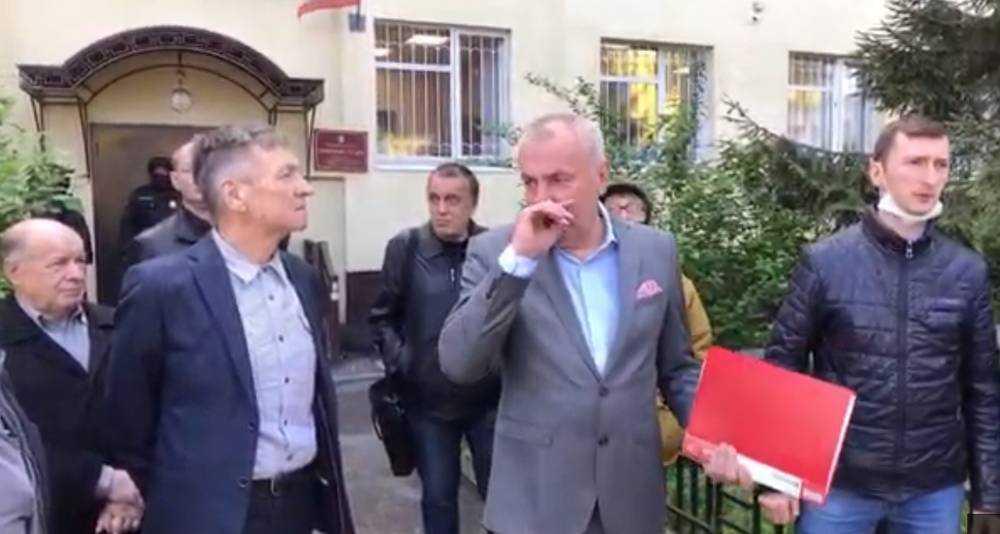 Перед судом Коломейцев оскорбил главу УМВД и брянского губернатора
