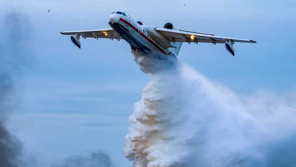 Пожары в брянских лесах с радиацией потребовали тушить с самолетов