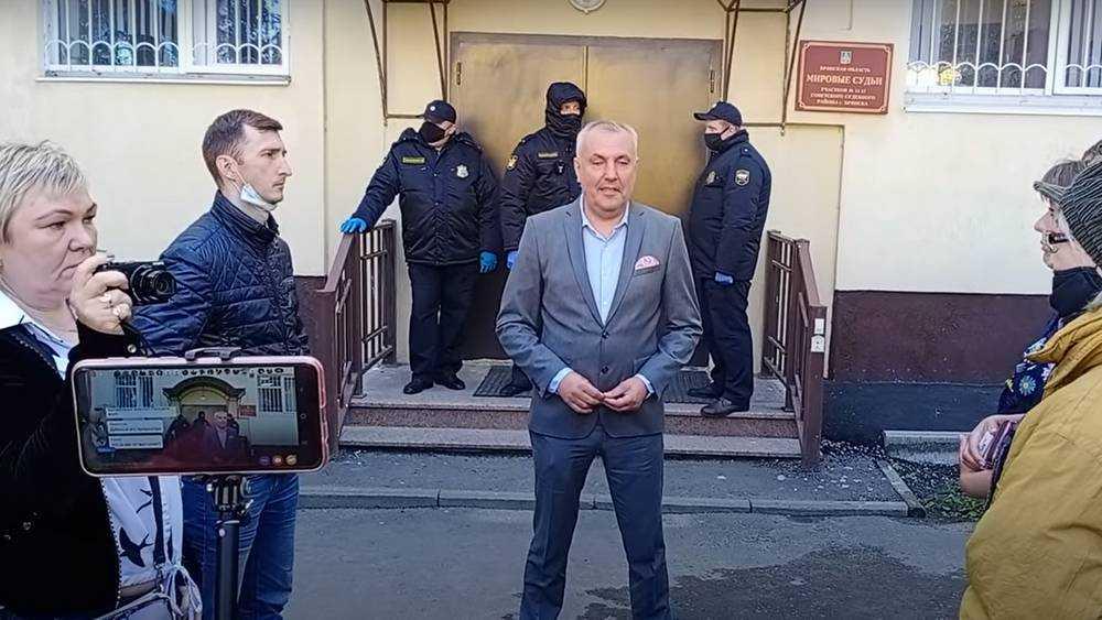 Брянский подсудимый Коломейцев признался, что нарушил запрет суда