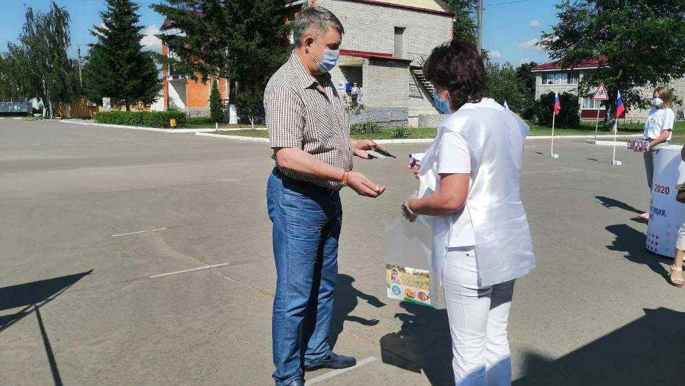 Брянский губернатор Богомаз проголосовал по поправкам в Конституции