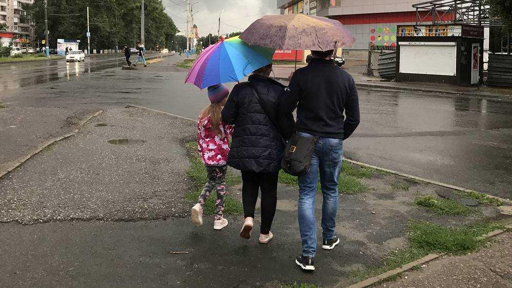 На Брянскую область 8 мая обрушатся сильные дожди