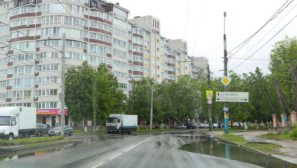 В Брянске за 4 дня выпала полуторамесячная норма осадков