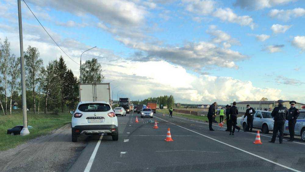 Брянская полиция начала поиск свидетелей трагического ДТП на объездной