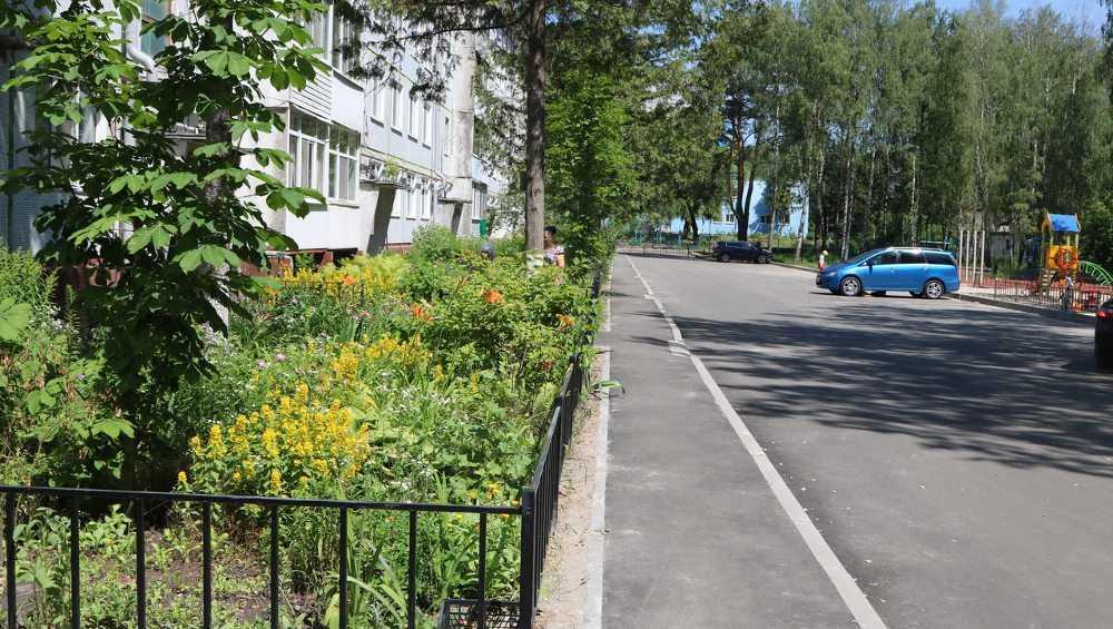 В Брянске обновили дворы на Ново-Советской и Вокзальной