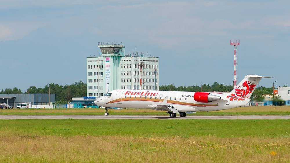 Брянский аэропорт обслужит 5 июля рекордное количество рейсов