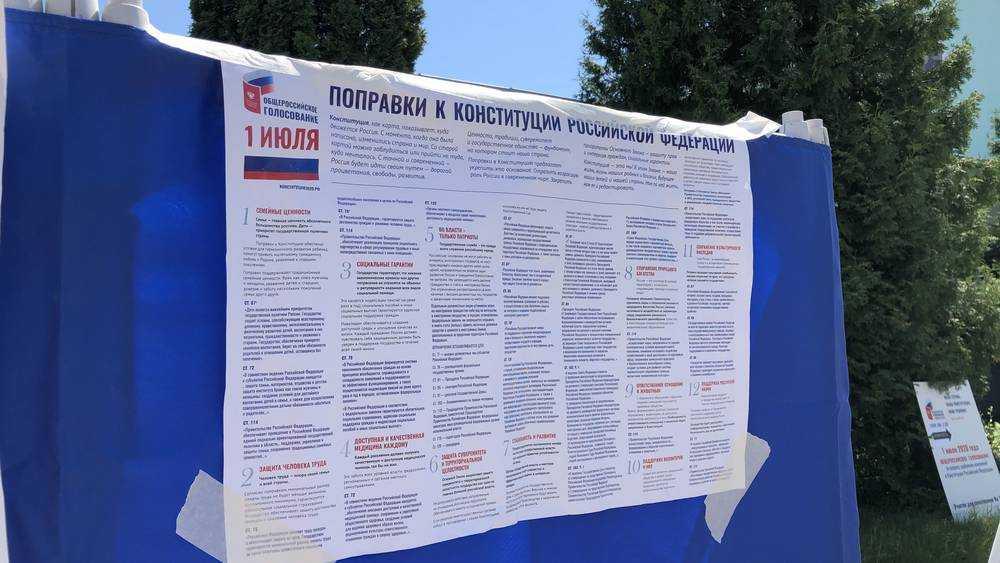 В Брянске начали скандальную агитацию по Конституции 14-летние ученики