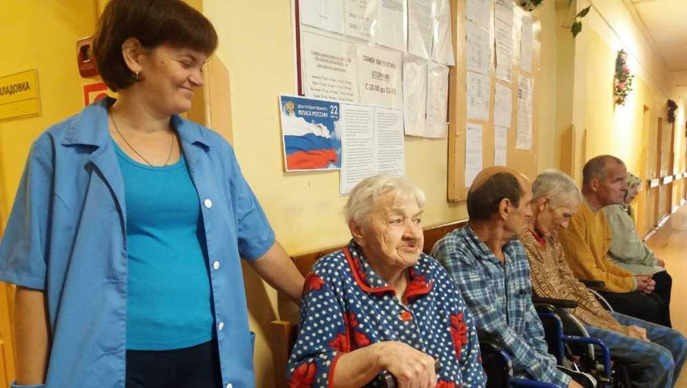 В Жуковском доме-интернате продлевают жизнь пенсионерам