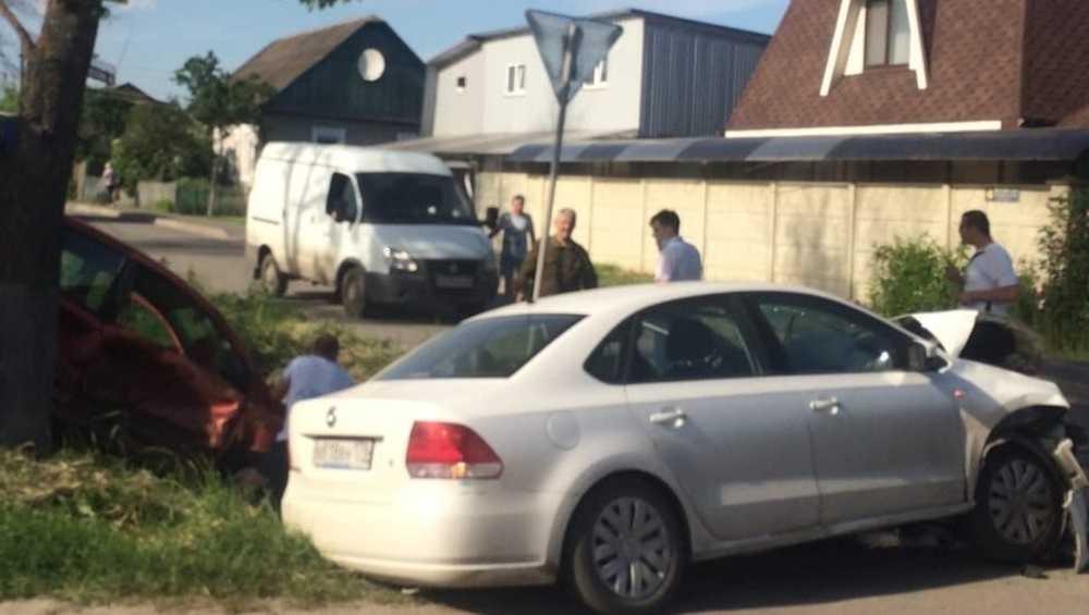 Серьезное ДТП произошло в Бежицком районе Брянска