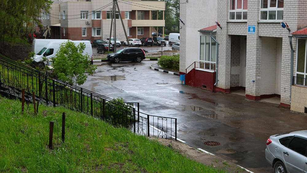 В Брянске чиновники отчитались за работу ливневки во время ливней
