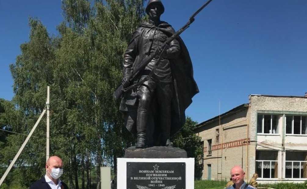 Под Мглином открыли обновлённый памятник воинской славы