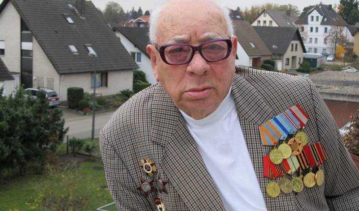 Из Германии Брянску передал поздравление с Днем Победы 96-летний солдат
