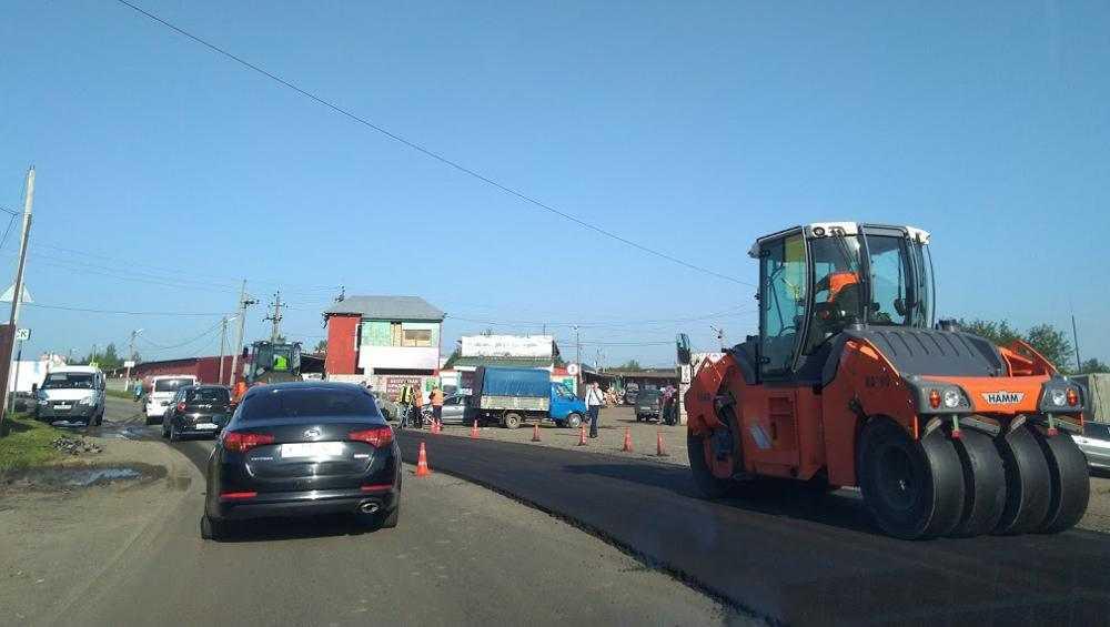В Брянске дорогу на улице Щукина расширили до четырех полос