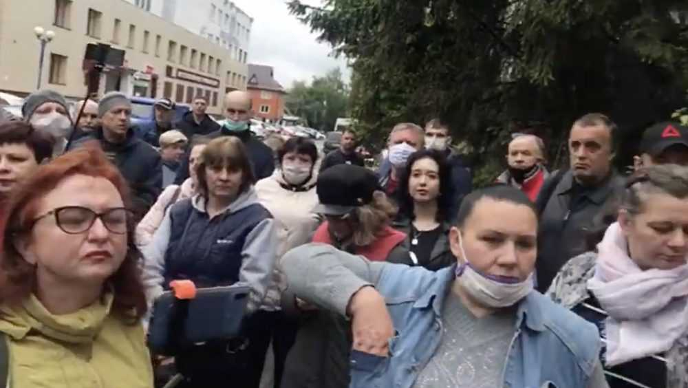 Брянский бунтарь Малюта начал «процесс народовластия»: полиция не вмешивается