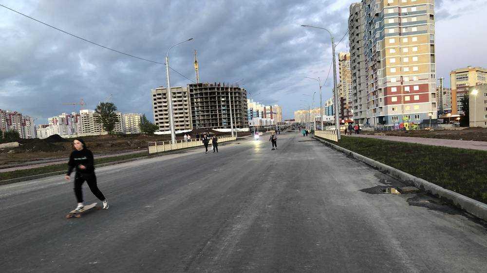 Недостроенный проспект Брянска приобрел невероятную популярность