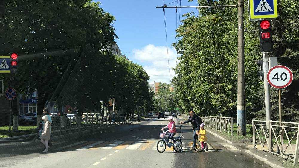 Брянских водителей в опасном месте стал встречать светофор