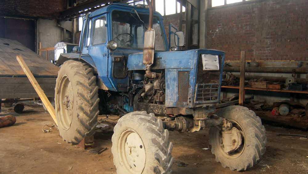В Новозыбковском районе тракторист наехал на односельчанина