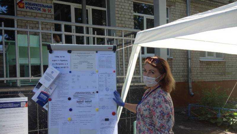 Избирком позаботился о безопасности брянцев при голосовании